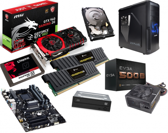 A note about Gaming Ready PC components